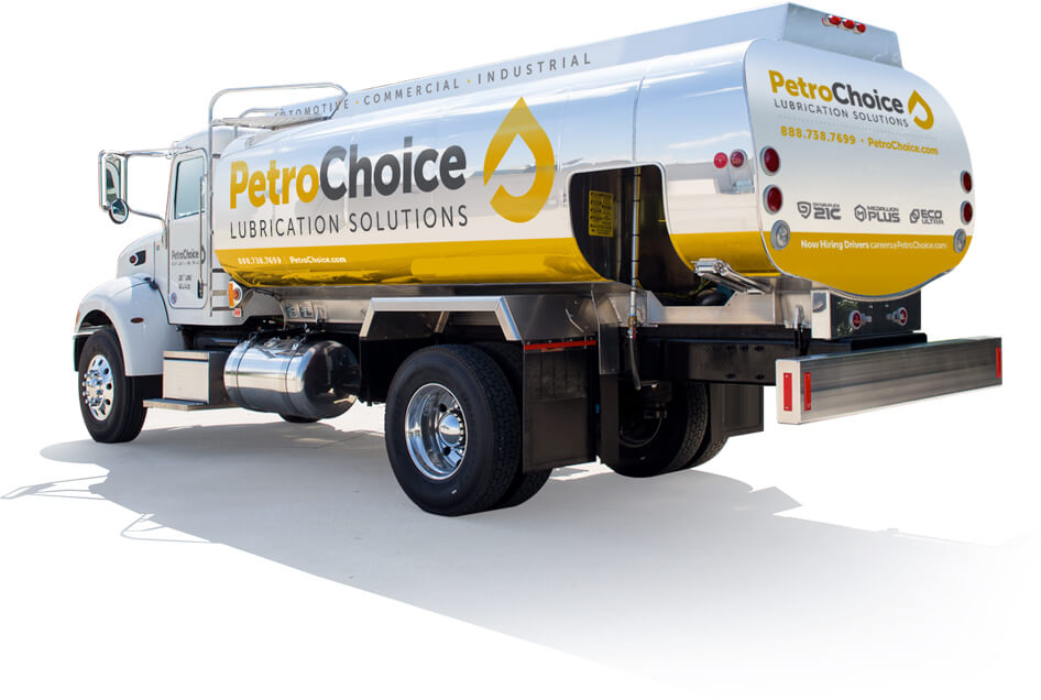 PetroChoice bulk oil delivery truck